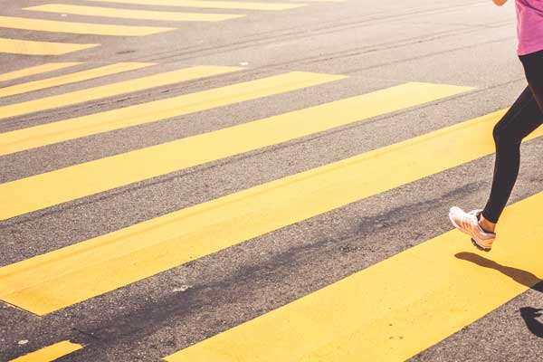 Yellow iron oxide uses in asphalt road
